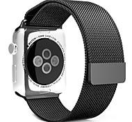 38mm 42mm voll Magnetverschluss Verschluss milanese Armband Metallschlaufe Handschlaufe Band für Apfel Uhr iwatch Netz