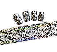 10pcs 100cmx4cm  Glitter  Nail Foil Sticker  DIY Beauty  Nail Decorations  Nail Art Sticker STZXK01-49