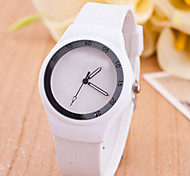 L.WEST Men's Silicone Quartz Watch