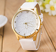 Women's  Fashion  Simplicity  Quartz Pierced Leather Lady Watch Cool Watches Unique Watches