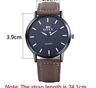 Authentic moment Leather watch Waterproof Skeleton Watch men watch quartz watch 2 case Color WH0032A-J Wrist Watch Cool Watch Unique Watch