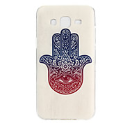 Palm Pattern TPU Material Phone Case for Samsung Galaxy J5