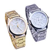 pleins hommes regardent en acier inoxydable entreprise quartz marque casual montres bracelet militaire relogio imperméable à l'eau