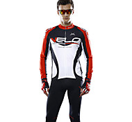 MYSENLAN® Cycling Jersey Men's Long Sleeve Bike Breathable / Lightweight Materials Jersey / Tops Polyester / Terylene Classic / Fashion