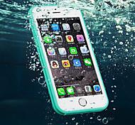 новый TPU водонепроницаемый отпечатков пальцев, чтобы разблокировать все включено случай телефона для Iphone 6 / 6S 4.7 (ассорти цветов)