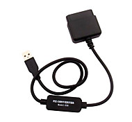 PS2 to PS3 USB Controller Converter Cable Adapter for Sony PS3 Console Game