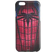 caso suave de TPU en relieve patrón 3d araña de impresión para iPhone 6 / 6s