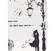 For Samsung Galaxy Case Wallet / Card Holder / with Stand / Flip / Pattern Case Full Body Case Dandelion PU Leather Samsung Tab A 9.7