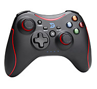 zhidong® schwarz& rot n Wireless-Controller für PS3 / Android-Handy / tv box / pc