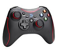 zhidong® negro& mando inalámbrico n rojo para PS3 / teléfono androide / caja de TV / PC