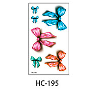(1pcs) New Design Fashion Colorful Rosette Temporary Tattoo Stickers Temporary Body Art Waterproof Tattoo Pattern