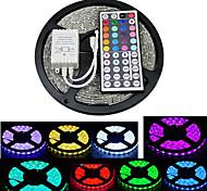 zdm 5m 300x5050 smd rgb führte Streifenlicht ip20 mit 44key Fernsteuerung (12 V DC)