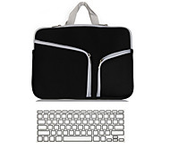 "2 in 1 Laptop Cover Case Ultrabook Notebook Sleeve bag with Keyboard Cover for Macbook Pro Air Retina 11""/13""/ 15"""