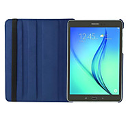 Pour Samsung Galaxy Coque Avec Support Clapet Rotation 360° Coque Coque Intégrale Coque Couleur Pleine Cuir PU pour Samsung Tab S2 8.0