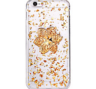Luxury petal Design TPU Back Cover Cover for IPhone 6 Iphone6S
