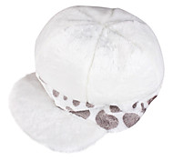 Hat/Cap Inspired by One Piece Cosplay Anime Cosplay Accessories Cap / Hat White Corduroy Kid