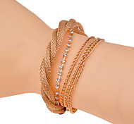 Fashion Twist Drill  Bracelet