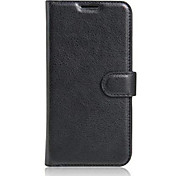 Embossed Card Wallet Bracket Type Protective Sleeve For LG x Cam Mobile Phone
