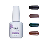 ILuve Gel Nail Polish Set - Pack Of 4 - Long Lasting 3 Weeks Soak Off UV Led Gel Varnish – For Nail Art #4021