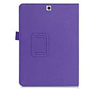 für Samsung Galaxy Tab 9.7 s2 Ledertasche für s2 T810 intelligente Abdeckung elastische Handschlaufe Tab&Kartenhalter