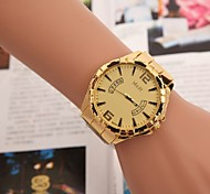 Men's Fashion Watch  Gold Band Watch