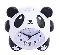 mignon panda de bande dessinée réveil lumière de nuit silencieuse pour le cadeau enfants étudiants enfants