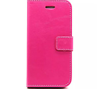 Soft Suede Leather Wallet Cover Magnetic Flip Stand Case for Iphone6/6S