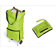 Travel Inflated Mat / Packing Organizer Foldable Travel Storage Fabric Green