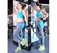 Running Bottoms / Pants Women's Breathable Cotton Yoga / Fitness / Leisure Sports / Badminton / Running Sports TightIndoor / Outdoor