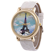 Women's  Fashion Personality Tower Quartz  Leather Lady Watch Cool Watches Unique Watches