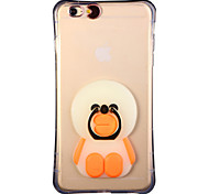Glow in the Dark Sloth Bears Pattern with Hand Ring and Strap PC Back Case for iphone6/6s