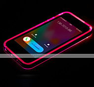Para Funda iPhone 7 / Funda iPhone 7 Plus / Funda iPhone 6 / Funda iPhone 6 Plus Fosforescente / Linterna LED / Transparente Funda