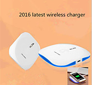 2016 as novas Q1 carregador sem fio padrão / telefone inteligente carregador sem fio universal