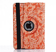 360 Degree Grape Grain PU Leather Flip Cover Case for iPad Air (Assorted Colors)