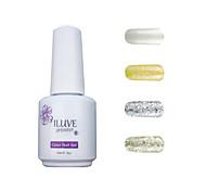 ILuve Gel Nail Polish Set - Pack Of 4 - Long Lasting 3 Weeks Soak Off UV Led Gel Varnish – For Nail Art #4009