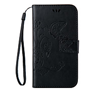 Embossed Butterfly Purse Style with Lanyard Phones for Galaxy Others