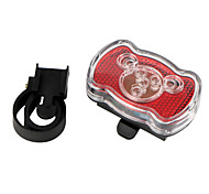 Bike Lights / Rear Bike Light LED - Cycling Easy Carrying / Warning AAA 200LM Lumens Battery Cycling/Bike