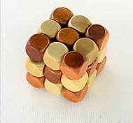 Fashion DIY Three-layer Wood Intelligence Cubes