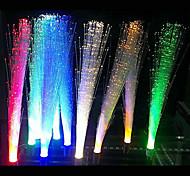 5pcs 3W branco iluminação / quente branco / azul / amarelo / verde / vermelho fibra óptica g4 decorativo conduziu a lâmpada de luz (DC12V)