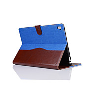 9.7 Inch Cowboy Grain Pattern Pu Leather Case with Stand for ipad pro 9.7(Assorted Colors)
