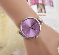 Women's Watch Fashionable Silver Case Alloy Band