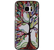 Color Tree Pattern Hard PC Case for Samsung Galaxy S7/S7 Edge/S7 Plus