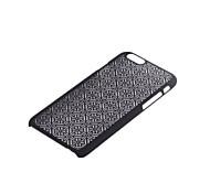 retro sterren patroon opengewerkte hoogdruk PC materiaal telefoon Case voor iPhone 6 / iphone 6s