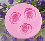 Flowers Shaped Bake fandant mold,L9cm*W9cm*H1cm