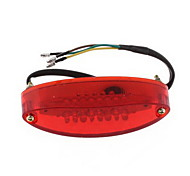moto fanale posteriore ruckleuchte 28LED 12V DC rosso& bianca