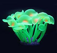 Decoración de Acuario Adornos / Coral Artificial Plástico