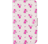 Rose Flower Pattern Embossed PU Leather Case for Galaxy J5(2016)/ Galaxy Grand Prime/ Galaxy Grand Prime/ Galaxy J5
