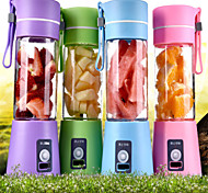 380ml Electric Portable USB Rechargeable Milk Shake Juice Blender Shaker Bottle
