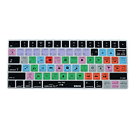 XSKN Logic Pro X 10.2  Shortcut Keyboard Cover Silicone Skin for Magic Keyboard 2015 Version, US Layout