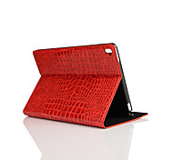 9.7 Inch Crocodile Skin Pattern Pu Leather Case with Stand for ipad pro 9.7(Assorted Colors)